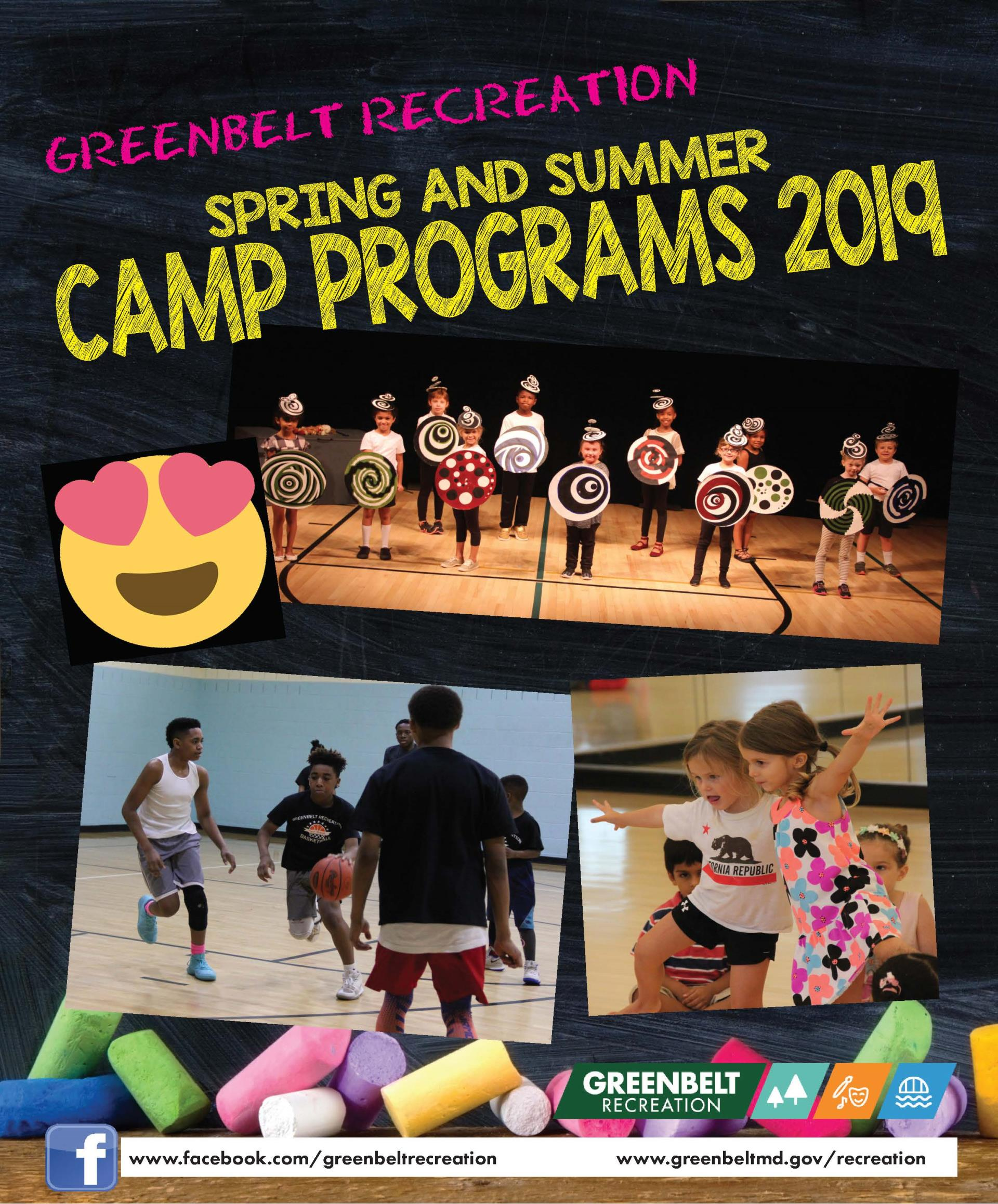 Spring and Summer Camp Brochure now Available