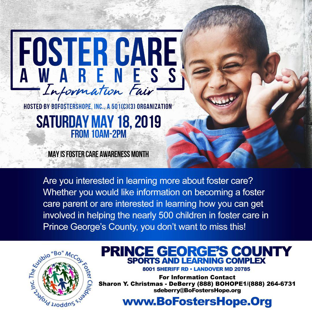 Foster Care Awarness  Information Fair Flyer
