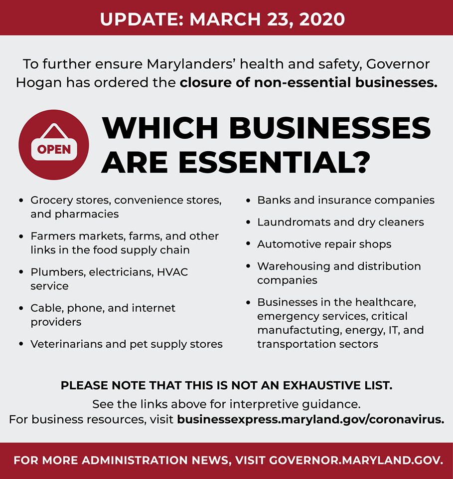 essential businesses