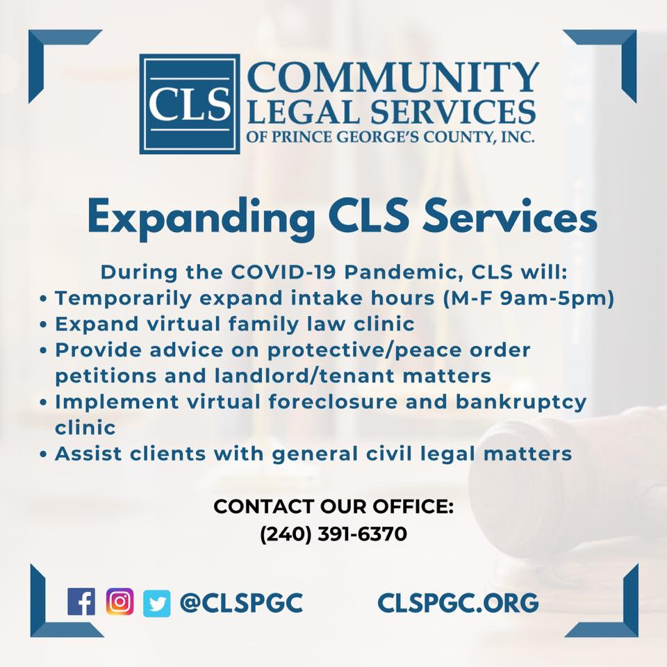 Community Legal Service of PGC