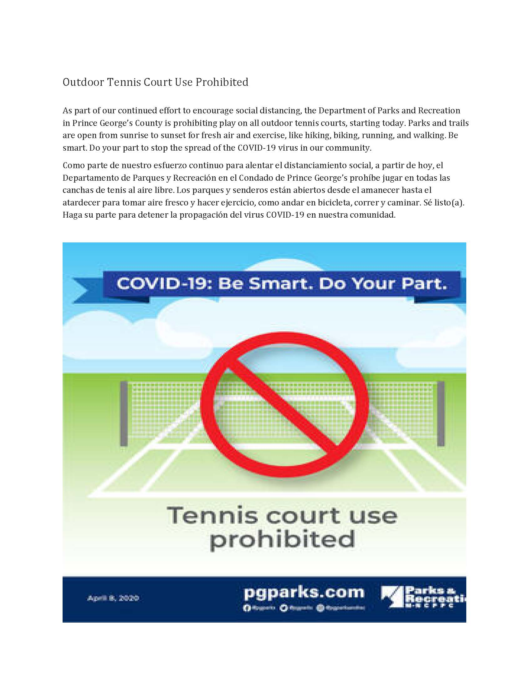 Outdoor Tennis Court Use Prohibited_Page_1