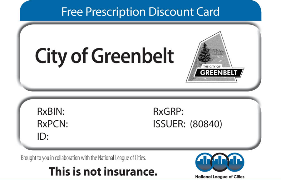 Sample image of Prescription Discount Card