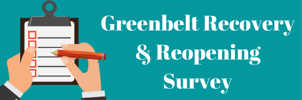 Greenbelt Recovery & Reopening Survey