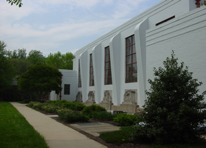 Exterior of community center