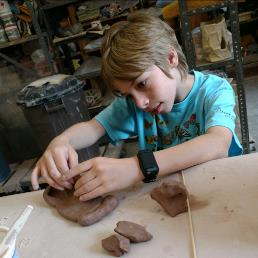 Youth handbuilding