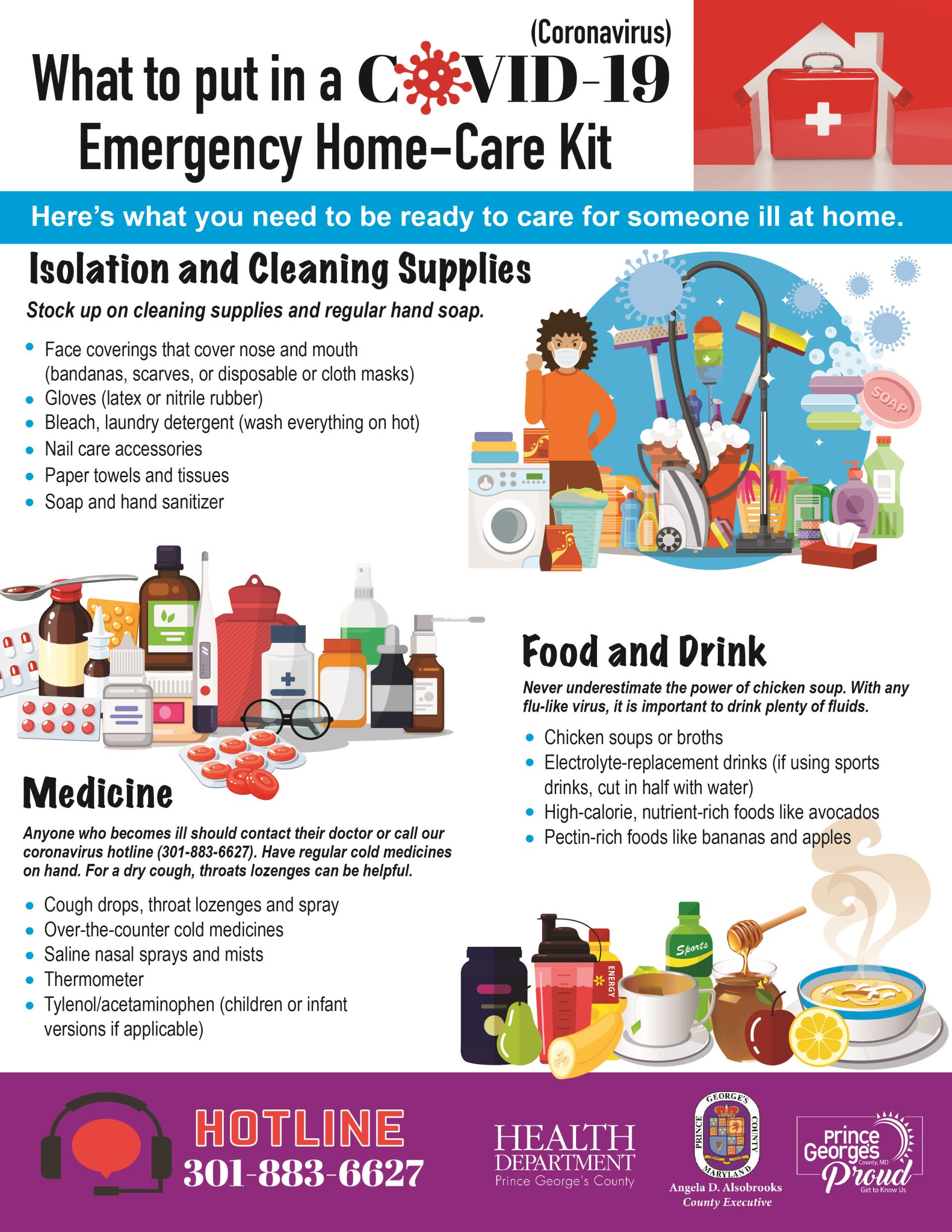 COVID Home Care Kit English