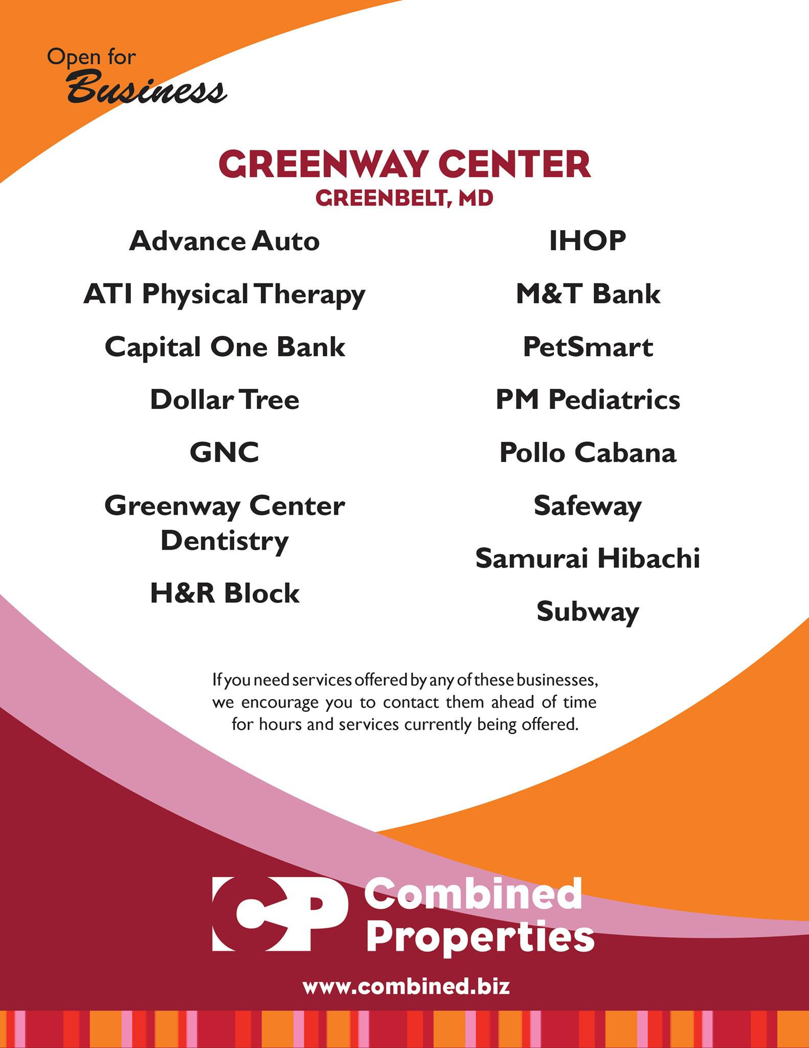 greenway shopping center